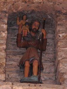 La porte saint ChristopheFête de la saint Christophe