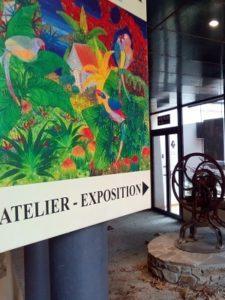 Pôle des métiers d'art8 ateliers d'artistes et artisans d'art
