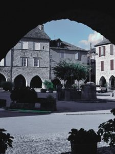 L'histoire de la bastidede Sauveterre-de-Rouergue